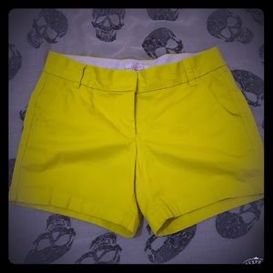 J. Crew Chino Shorts Yellow 4